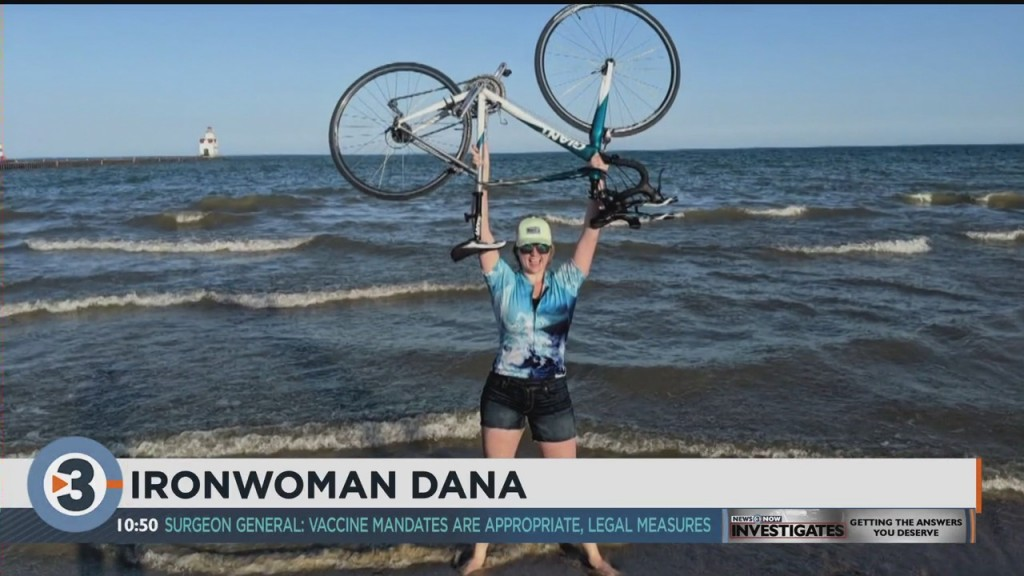 Ironman Returns To Madison, With News 3 Now's Dana Fulton Competing