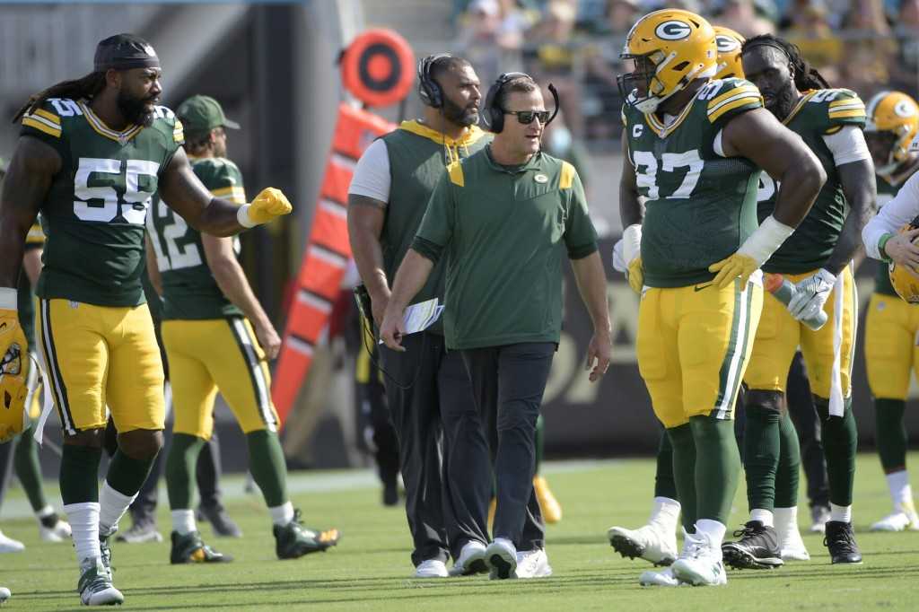 Packers' Defensive Woes Put Focus On Barry Before Lions Game