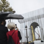 Paris' Arc De Triomphe Is Being Wrapped In Fabric