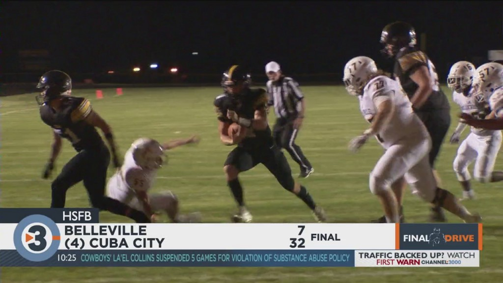 Cuba City Beats Belleville In Undefeated Swal Matchup