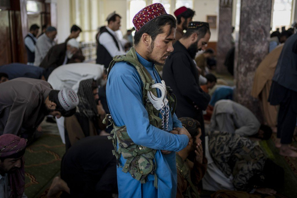 The Latest: Taliban Replace Women's Government Ministry