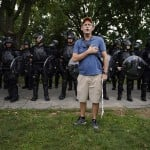 Dc Rally Ends Without Violence As Police Outnumber Protesters