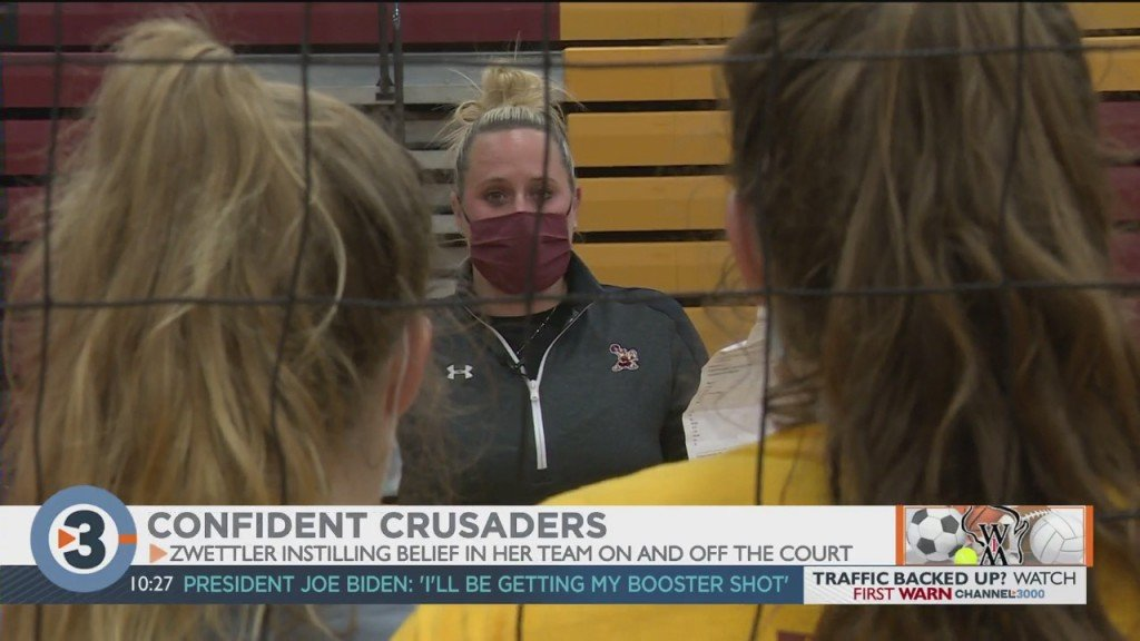 Liza Zwettler Has Edgewood Volleyball Swinging For State