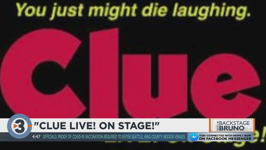 Bruno Backstage: An Inside Look At Clue: Live On Stage