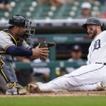 Garneau, Tigers Complete 2 Game Sweep Of Contending Brewers
