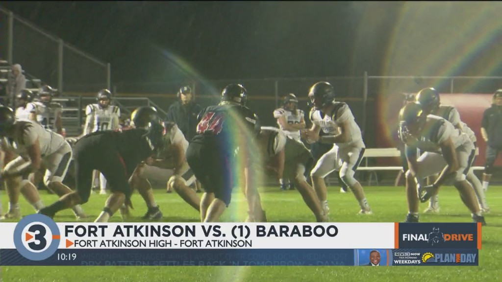 Fort Atkinson Tops Baraboo To Stay Perfect In Badger Small