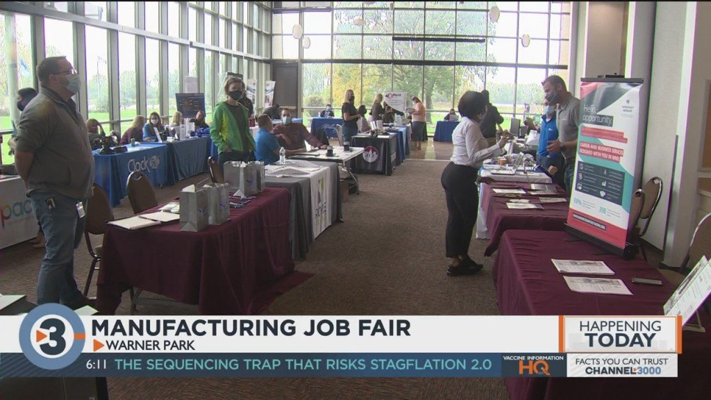Manufacturing Job Fair Gives Companies A Chance To Find New Employees