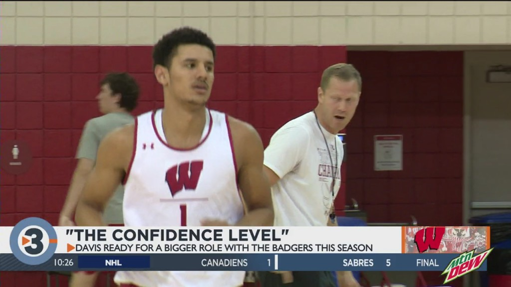 Badgers Expect Big Things From Johnny Davis