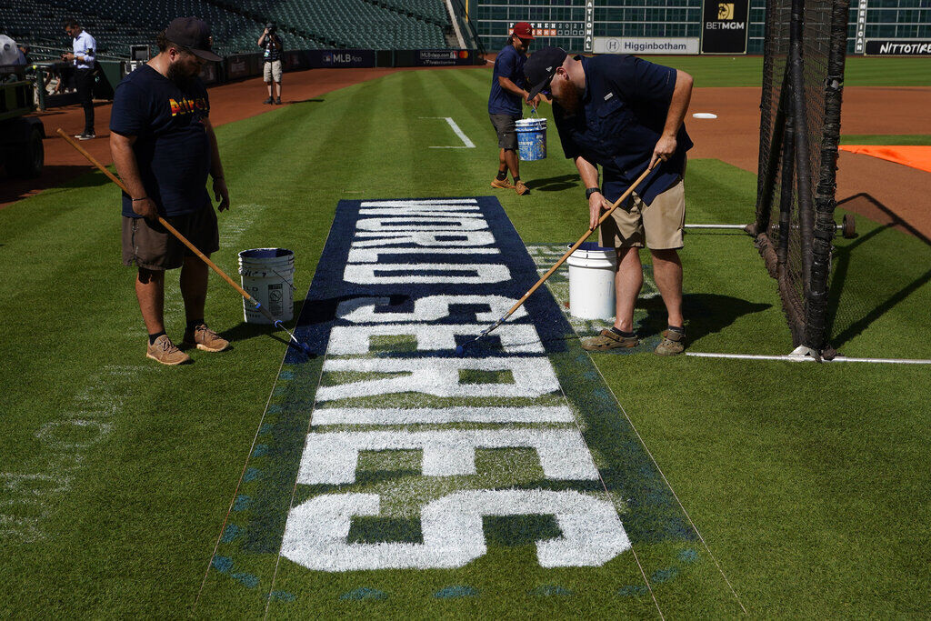 World Series: Follow Updates And Scores As The Astros Face The Braves