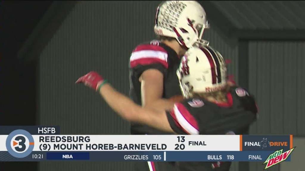 Mount Horeb Barneveld Capture Badger Small Crown With Win