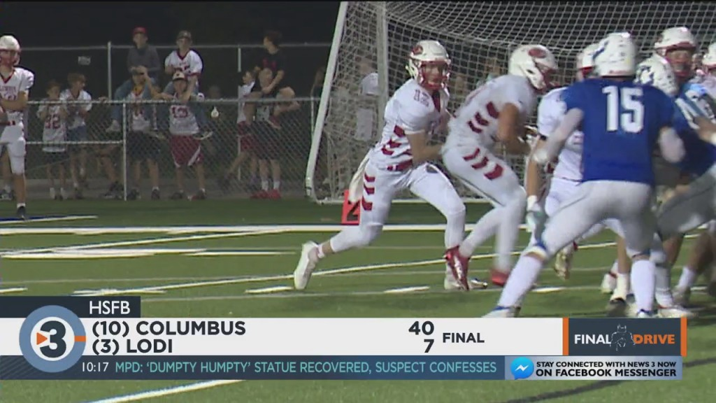 Columbus Blows Out Lodi In Statement Win