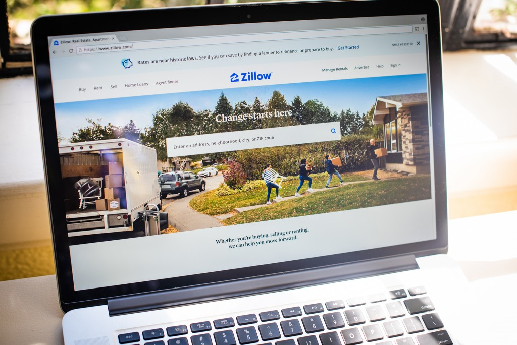 Zillow Application Ahead Of Earnings Figures