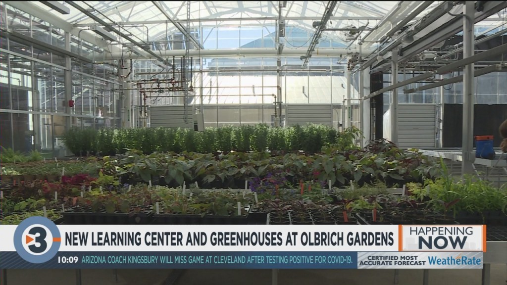 Olbrich Gardens Opens New Greenhouse And Learning Center