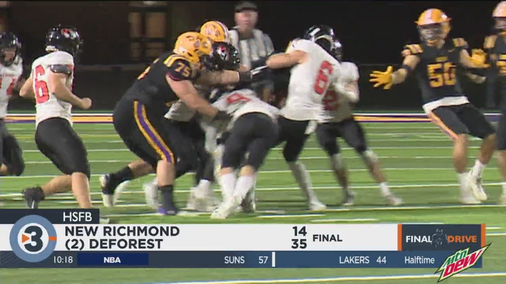 Deforest Gets It Done Against New Richmond