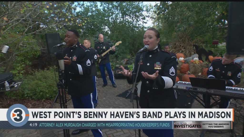 West Point's Benny Haven's Band Visits Madison