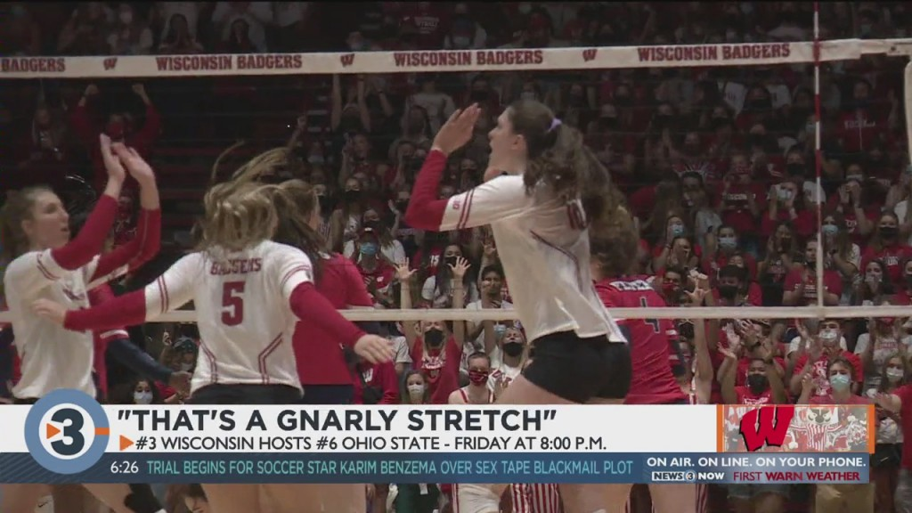 Badgers In For Tough Stretch Of Games