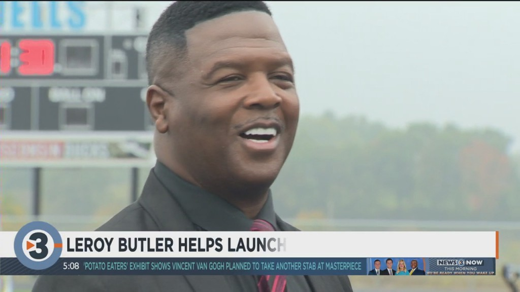Leroy Butler Launches Program To Teach Students Video Production