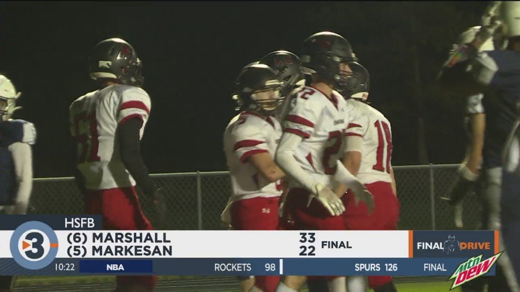 Marshall Wins Conference With Win Over Markesan
