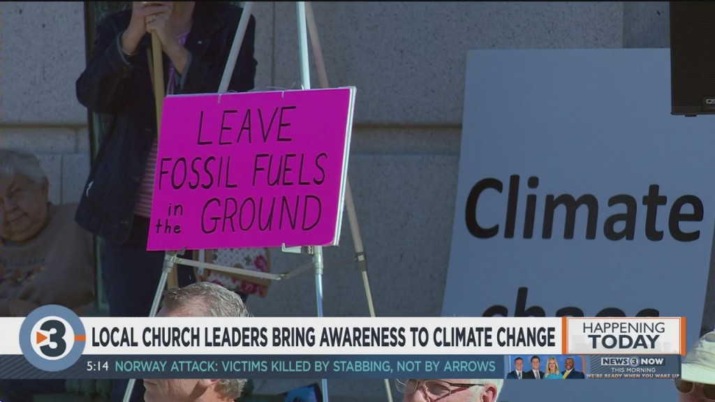 Local Church Leaders Bring Awareness To Climate Change