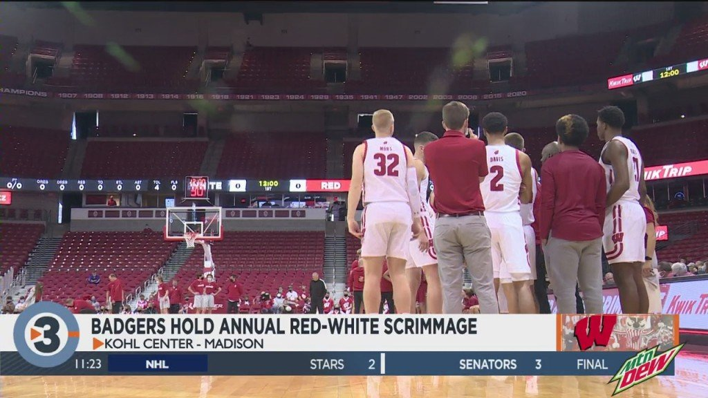 Uw Basketball Red White Scrimmage