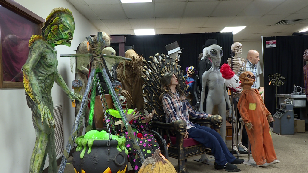prop monsters and other figures