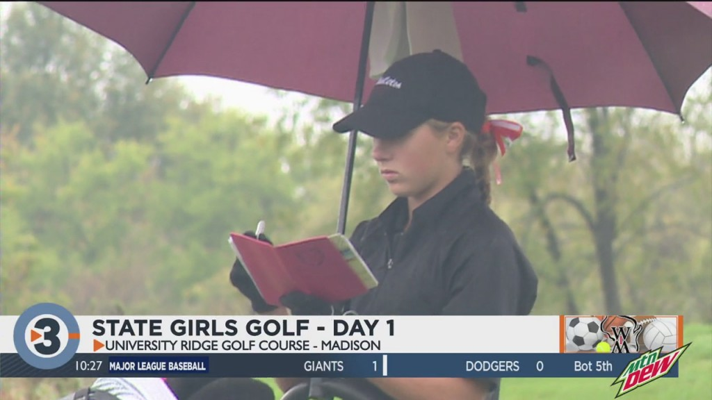 Middleton Tied For The Lead After Day 1 Of State Girls Golf Meet