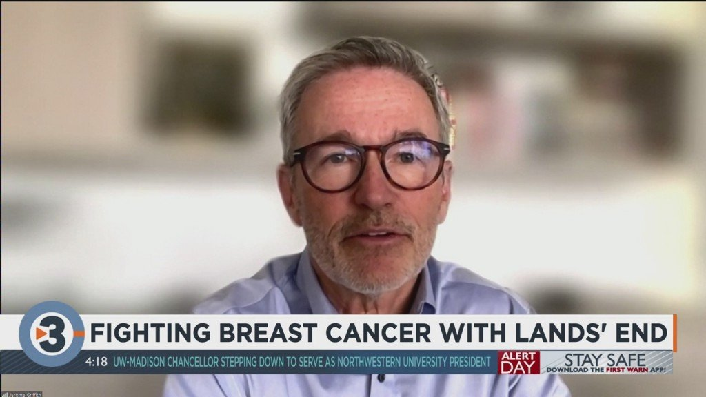 Fighting Breast Cancer With Lands' End
