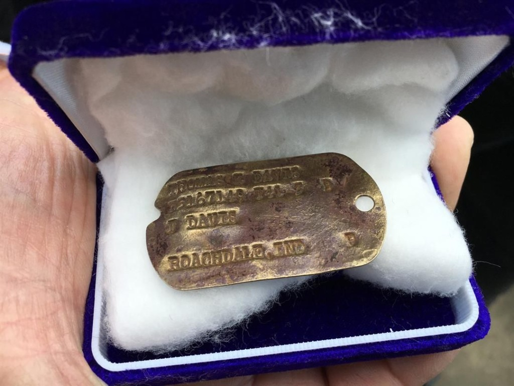 WWII Army Dog Tag Returned to Victoria Family