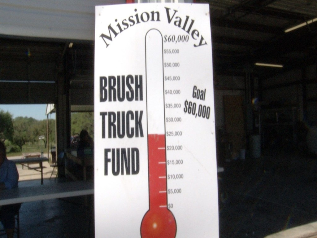 Mission Valley Volunteer Fire Department Raises Money for New Brush Truck