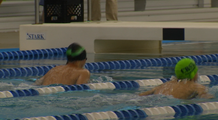 Swimmers Compete in First Summer Meet