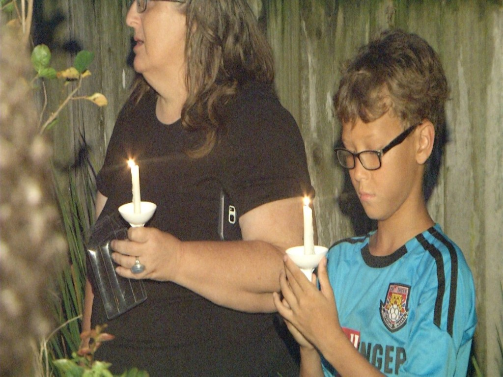 Community Holds Vigil For Victims of Orlando Mass Shooting