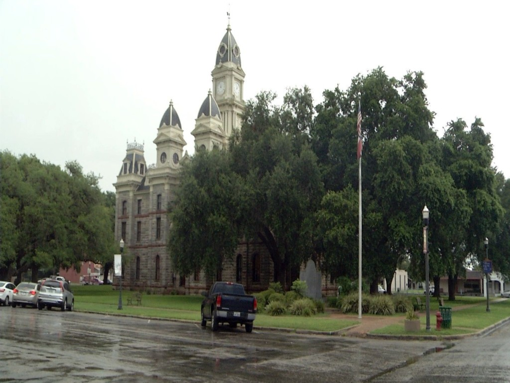 Goliad County Judge said no to Lowering of Flags