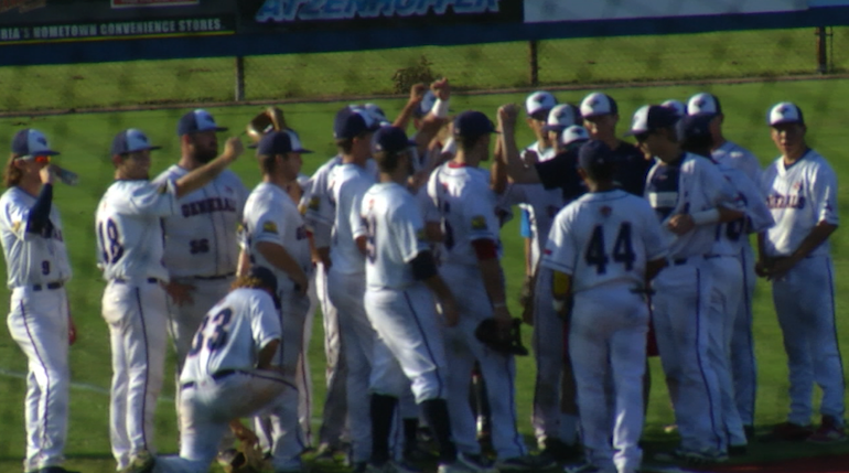 Generals Take Down Cane Cutters on the Road