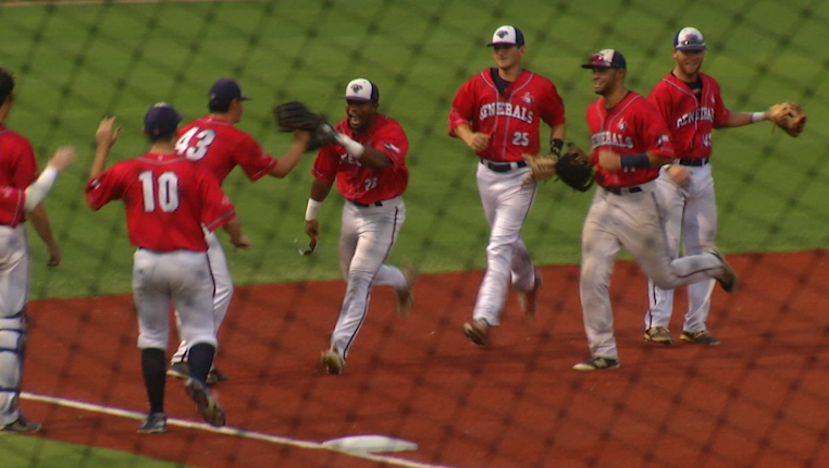 Generals Sweep Strykers at Home