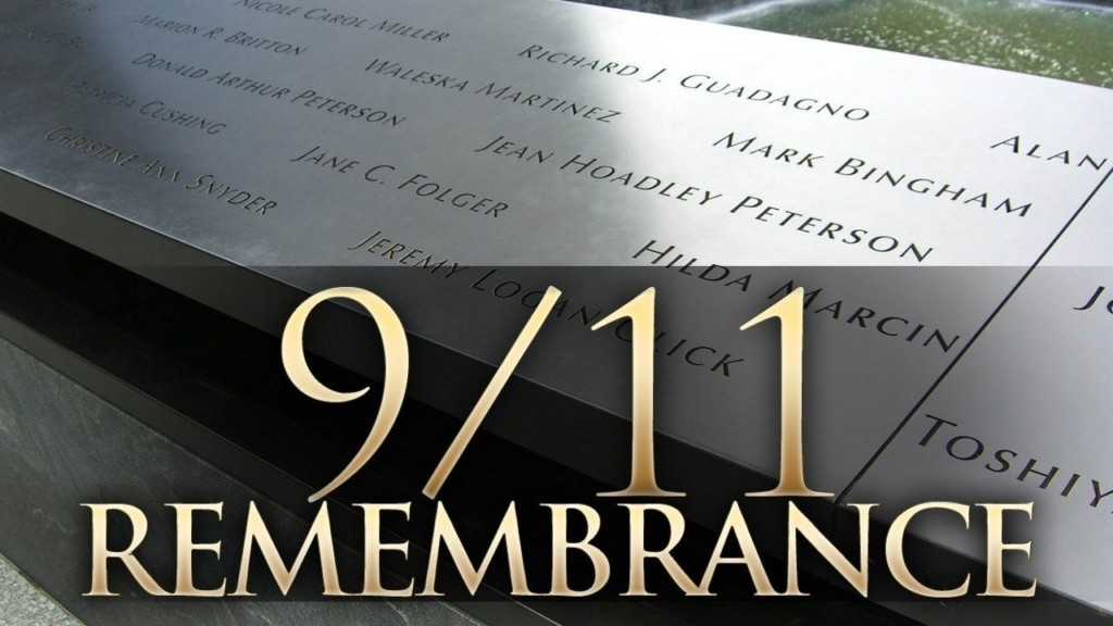 9/11 Remembrance ceremony scheduled for September 9