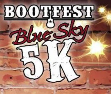 Bootfest to Feature Blue Sky5K Run