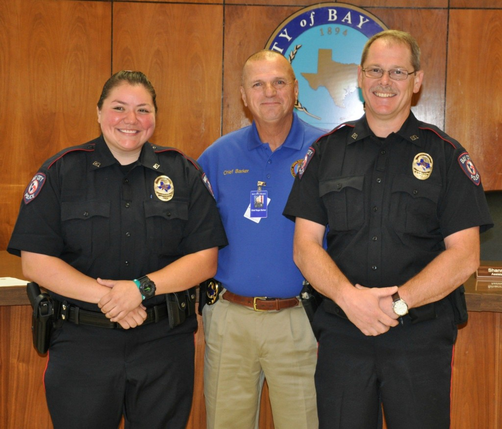 Bay City Police Department Hires Two New Officers