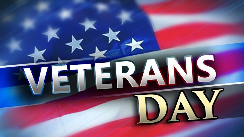 Veteran's Day Closings