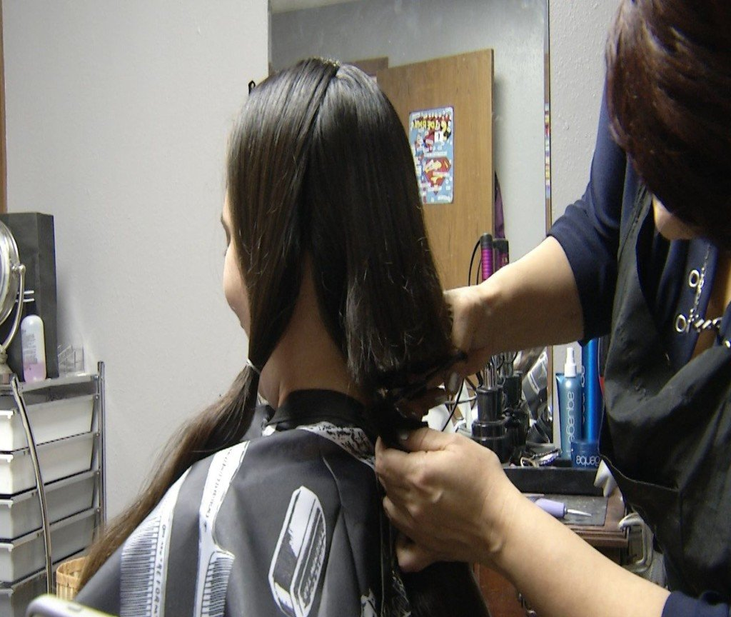 Victoria Woman Donates Hair to Locks of Love