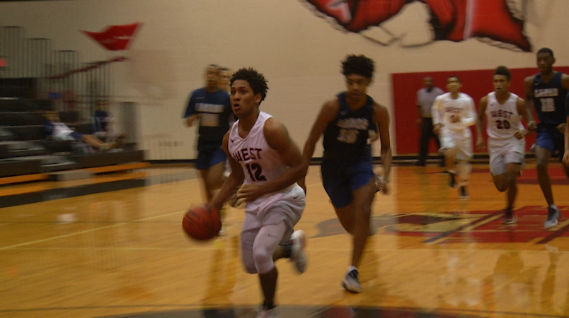 West Boys' Basketball Prepares for District Opener