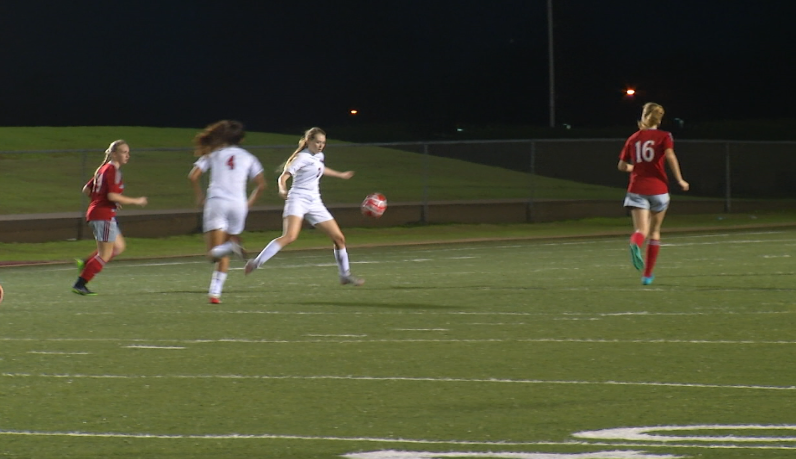 West Girls Soccer Wins Home Debut