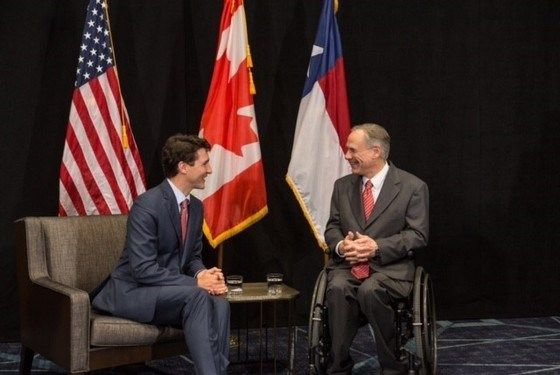 Governor Abbott Meets With Prime Minister Justin Trudeau To Discuss Texas-Canada Relations