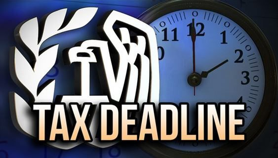 IRS Reminds Taxpayers of April 18 Tax-Filing Deadline