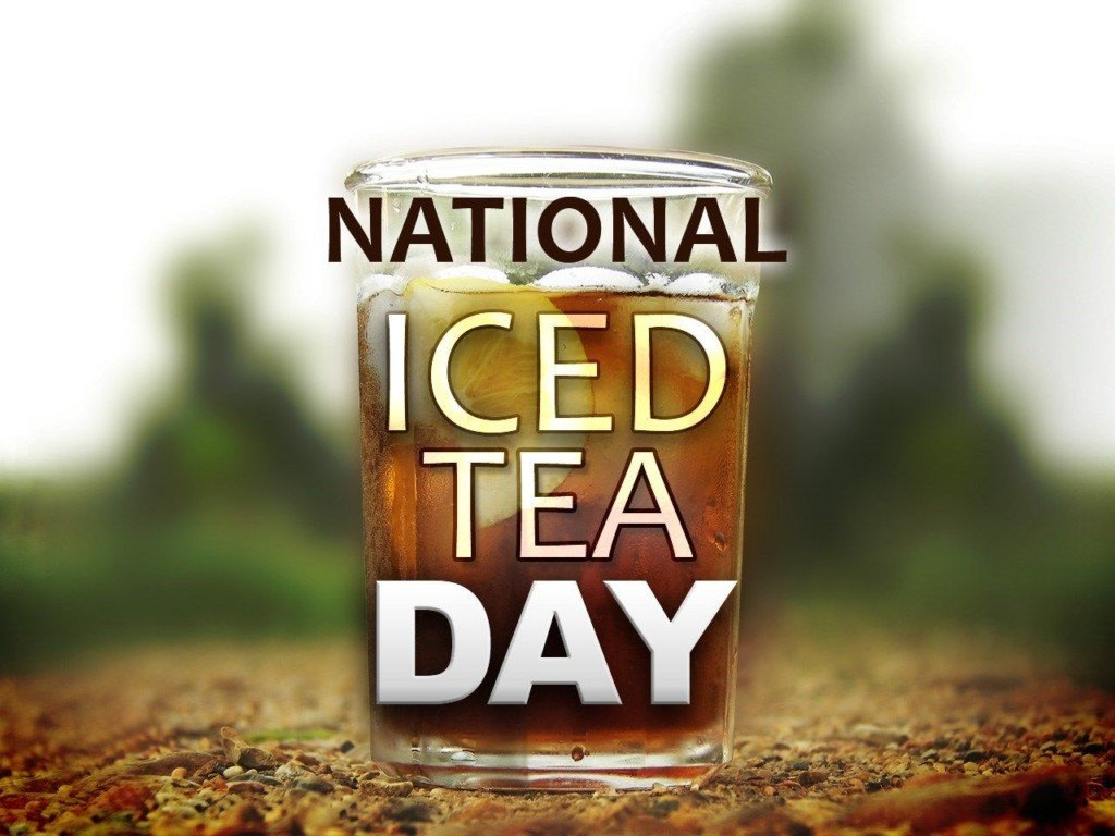 National Iced Tea Day on Saturday!