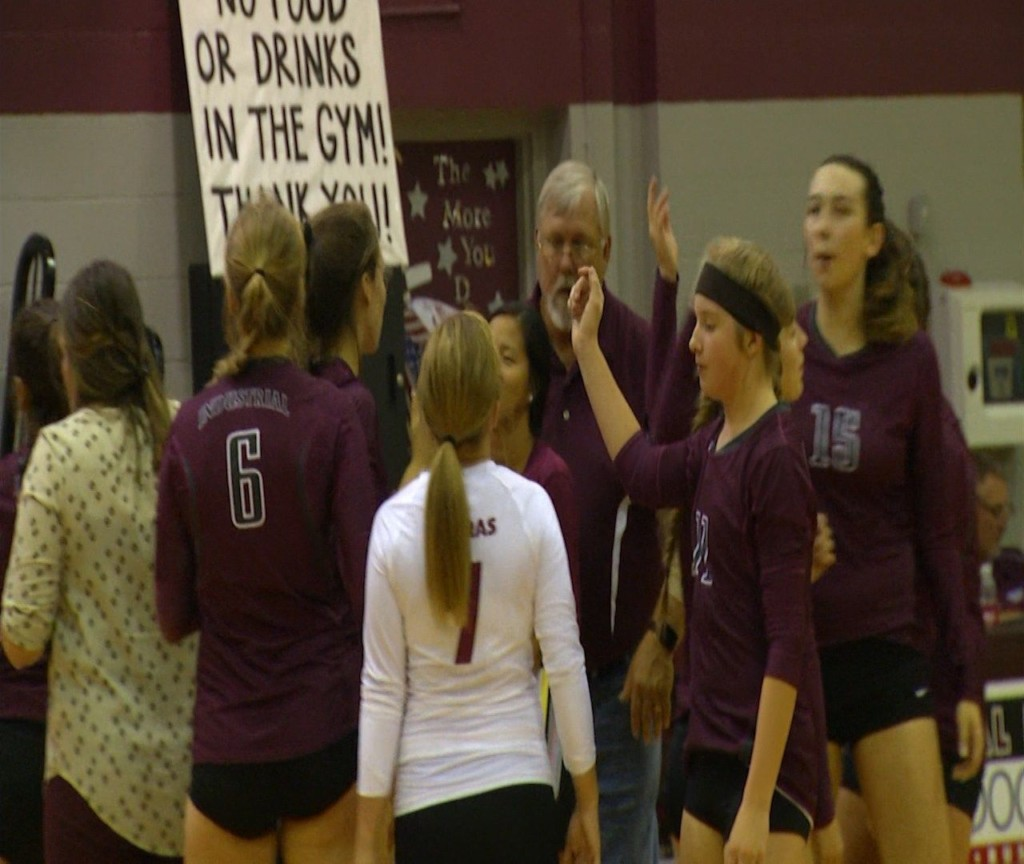 Industrial Volleyball Advances to Regional Semis