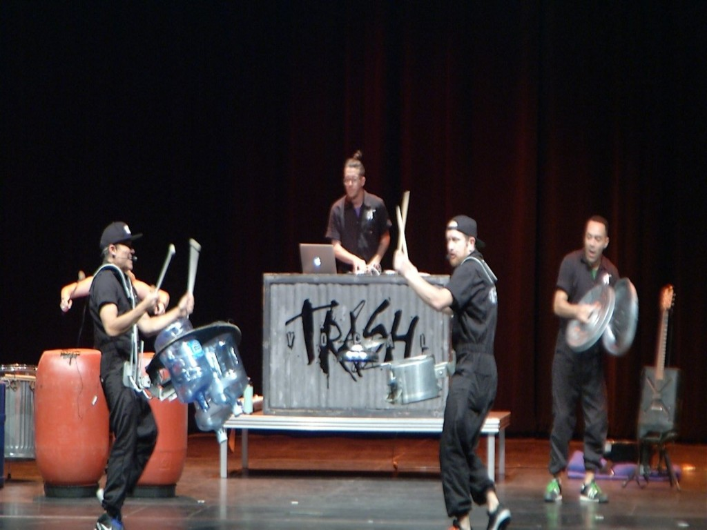 Vocal Trash Band Comes To Victoria To Teach Kids The Importance of Recycling