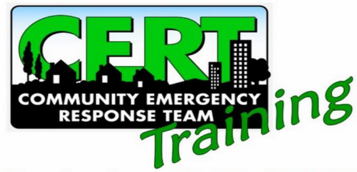 Community Emergency Response Team (CERT) Training
