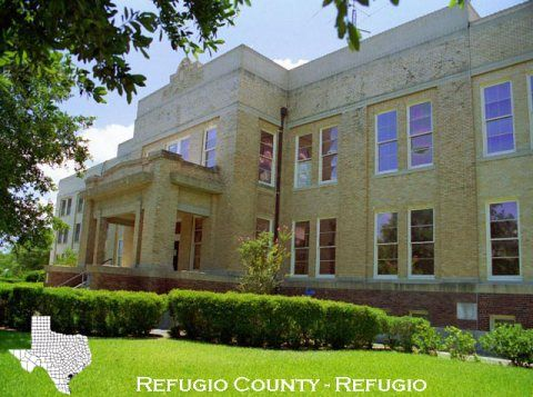 The Refugio county courthouse gets grant from the Texas Preservation Trust Fund