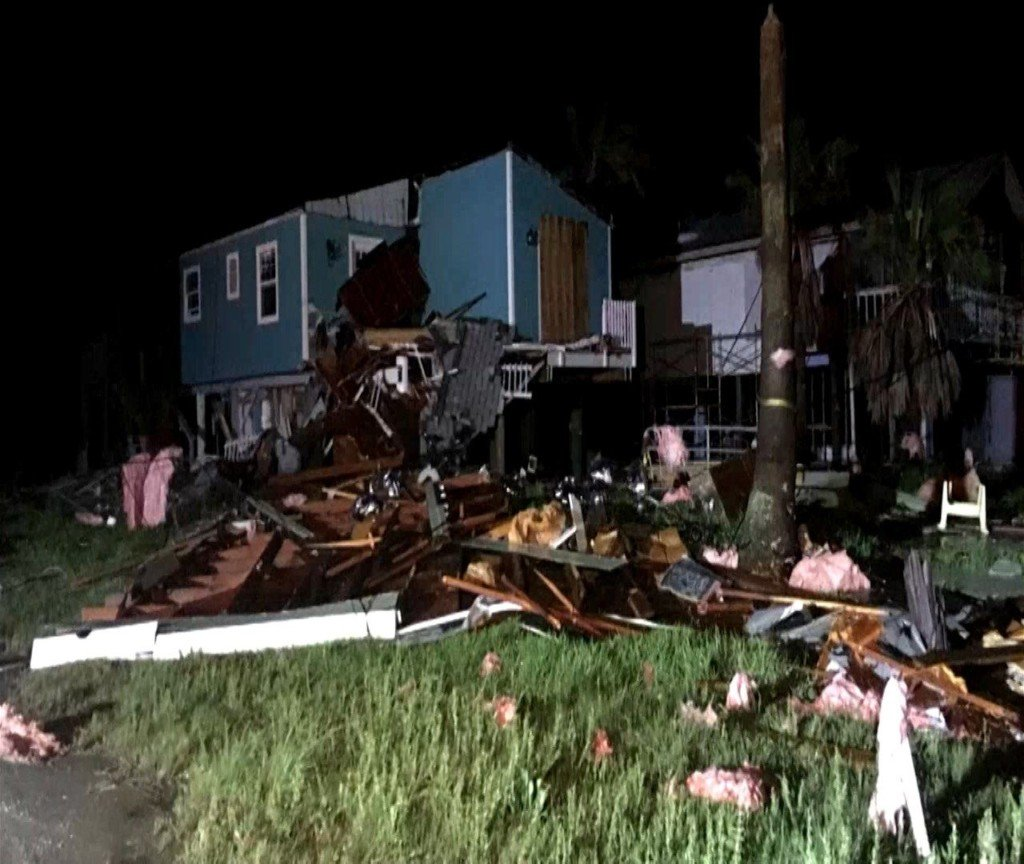 Seven people rescued from home after possible tornado in Aransas County