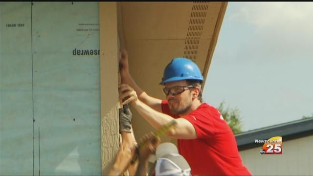 Volunteers Completed Community Service Projects On Day of Caring